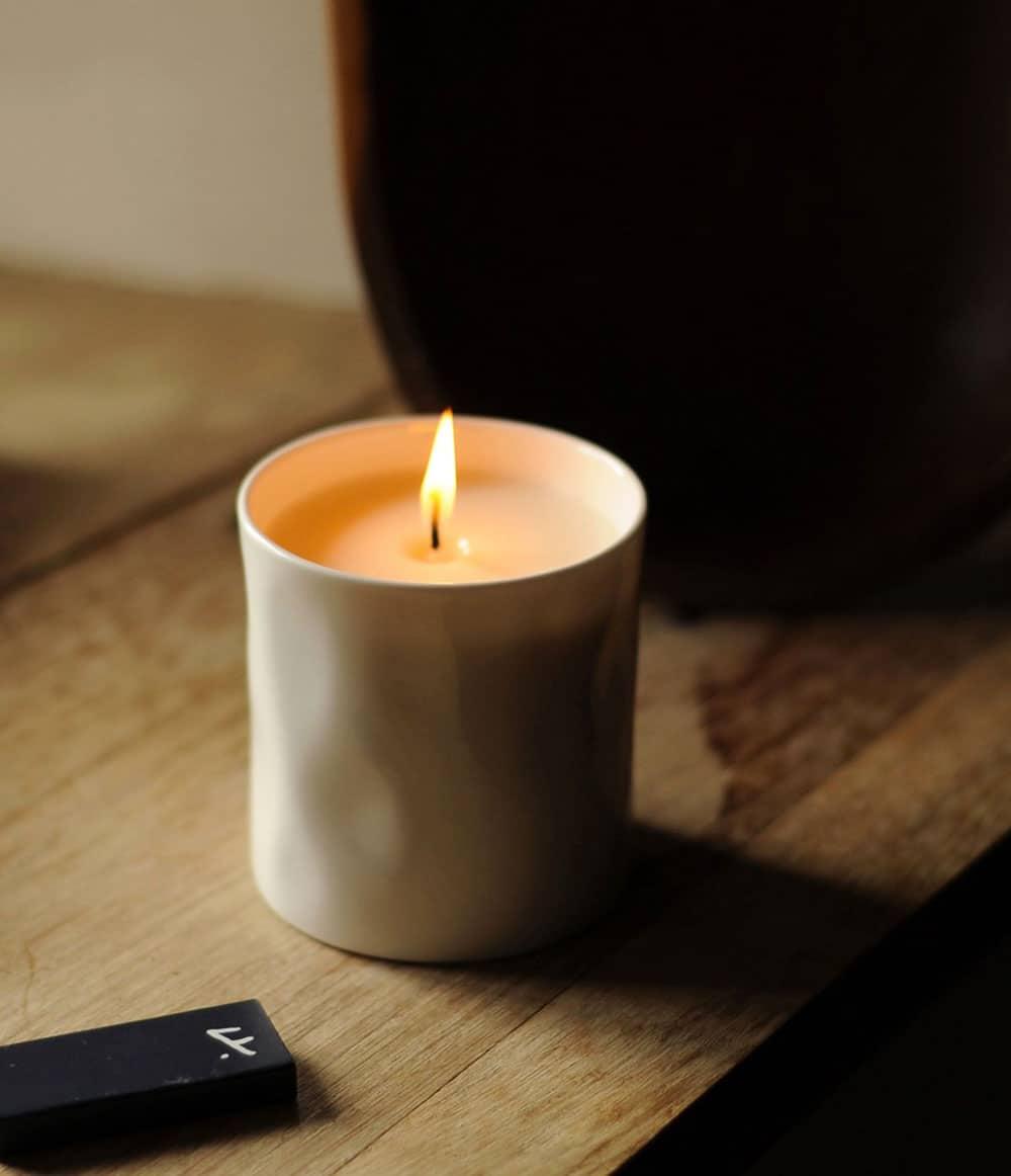 Feldspar-candle