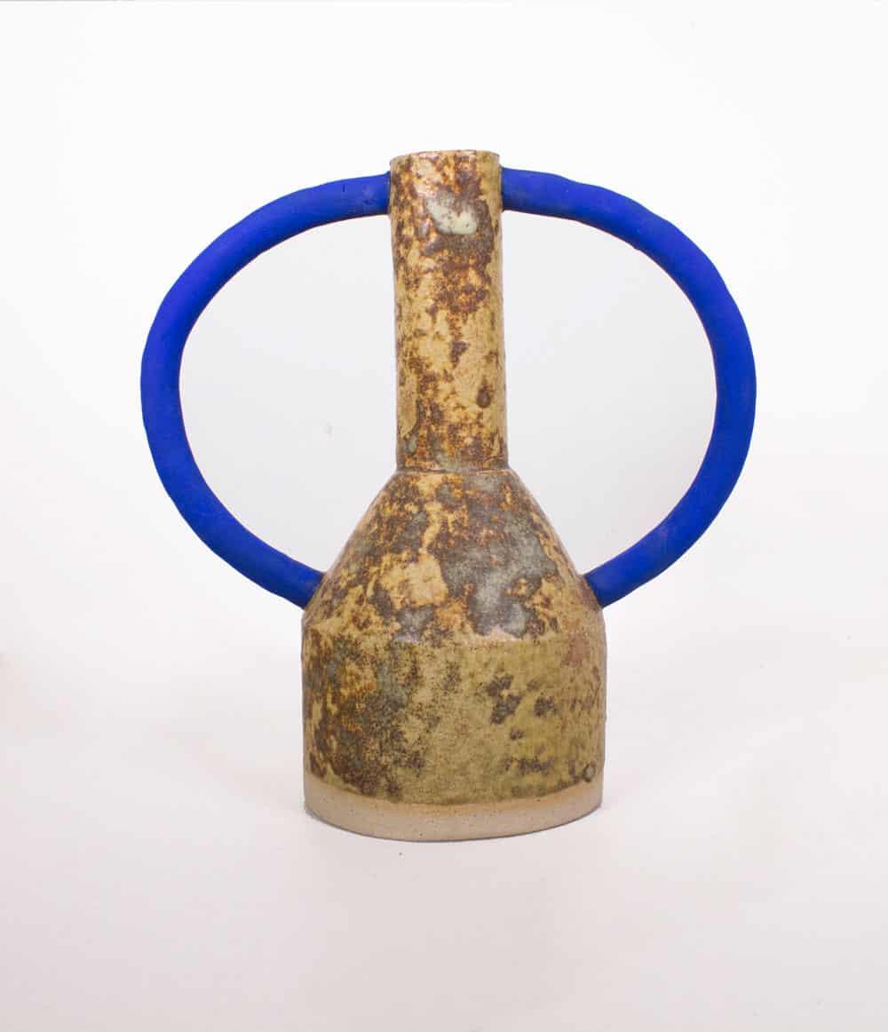 sophie-alda-brwo-blue-handle-vase