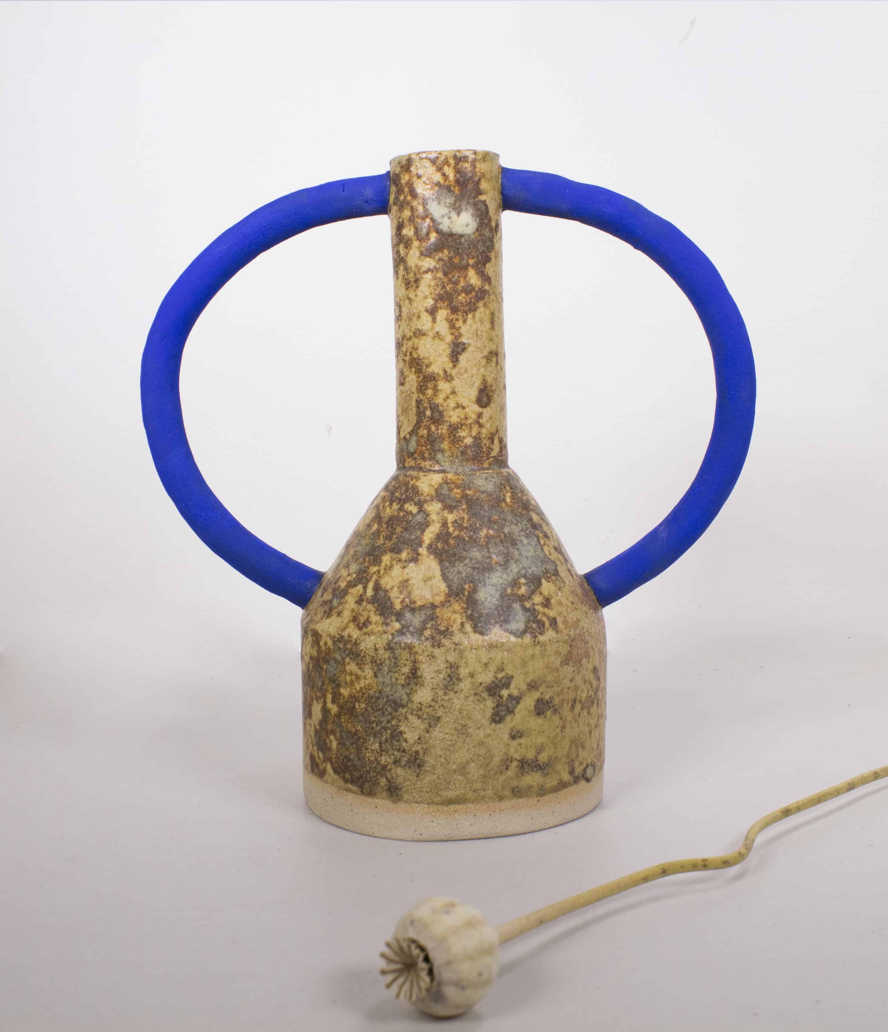 sophie alda mottled handle vase