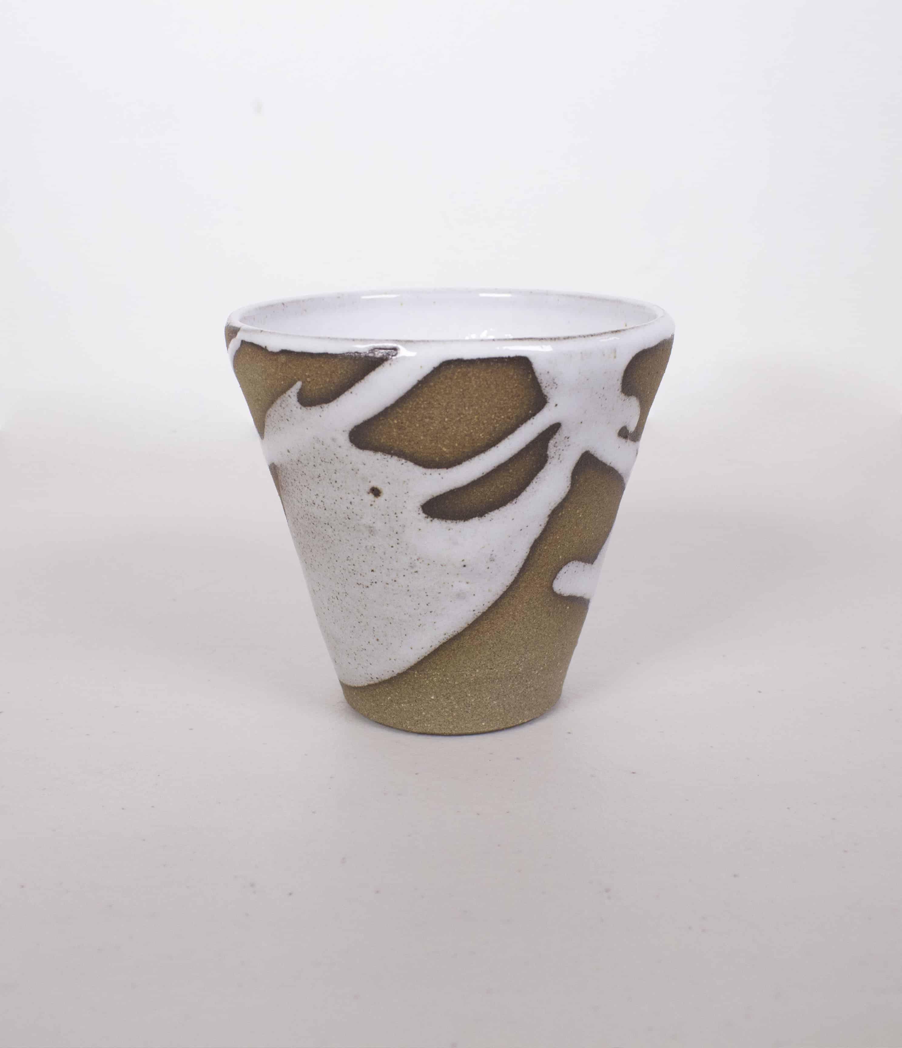 Lily Pearmain cup splatter