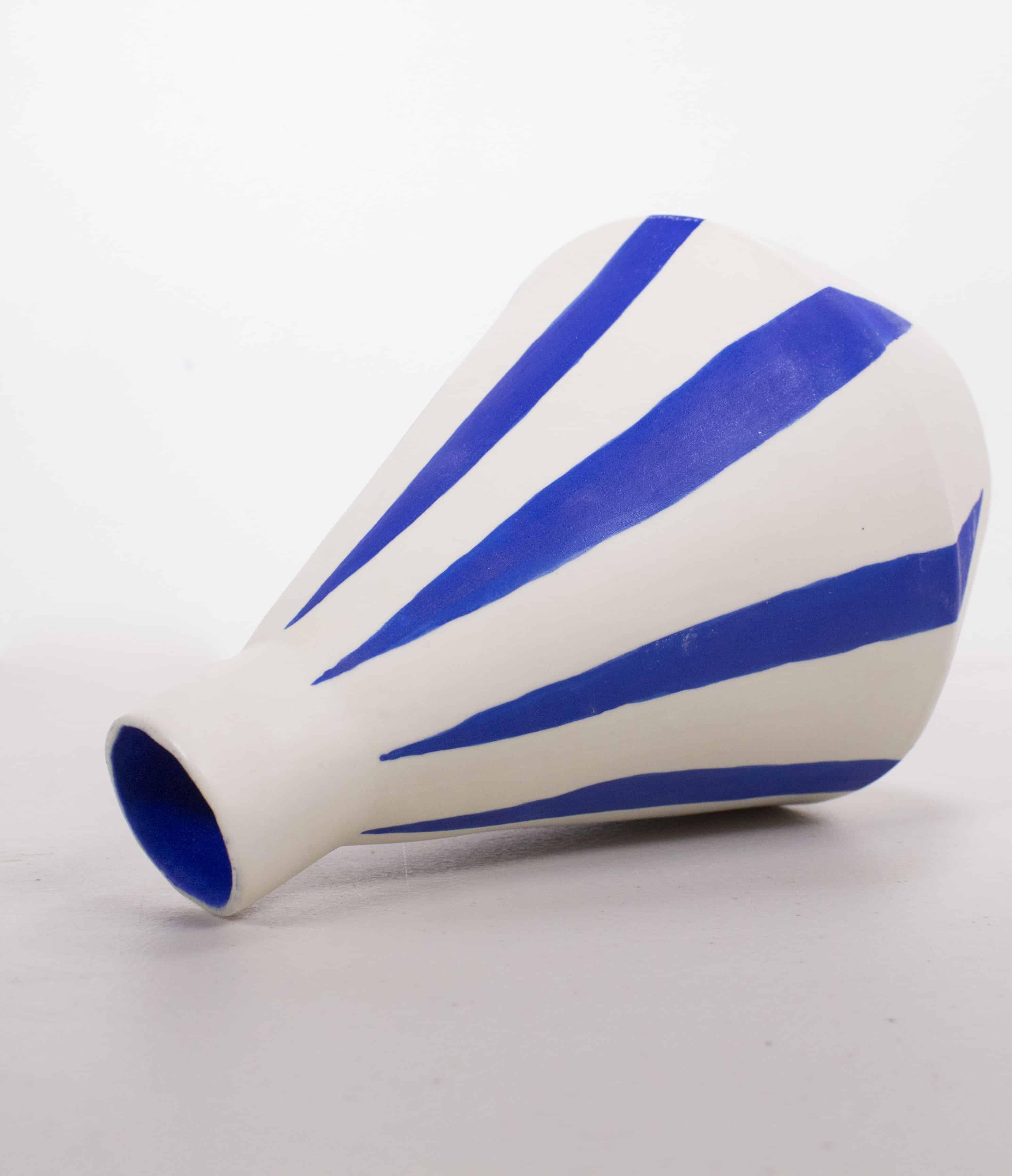 sophie alda diamond stripe vase