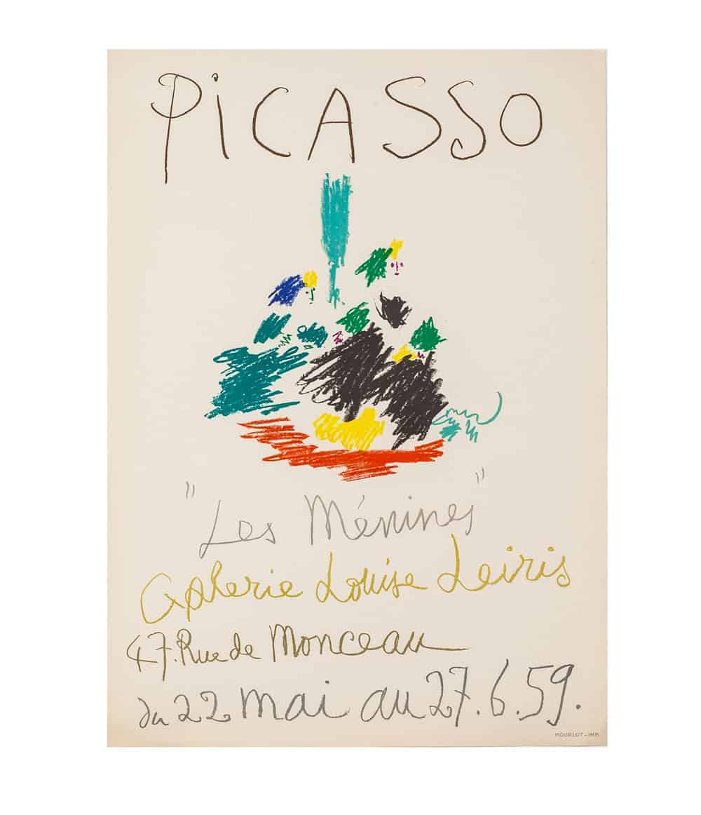 Pablo Picasso-lithograph-mourlot