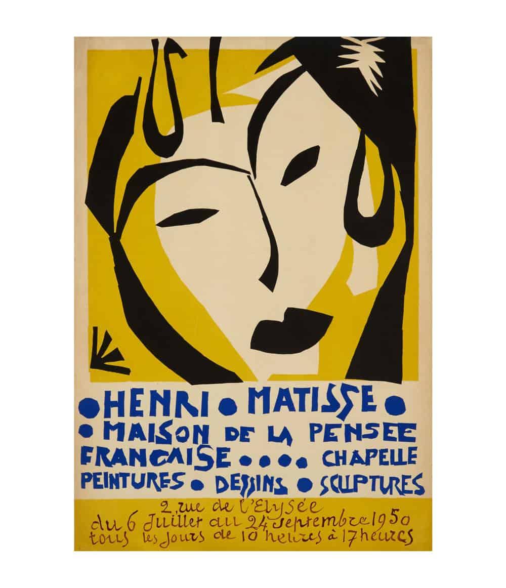 Matisse Exhibition Lithograph