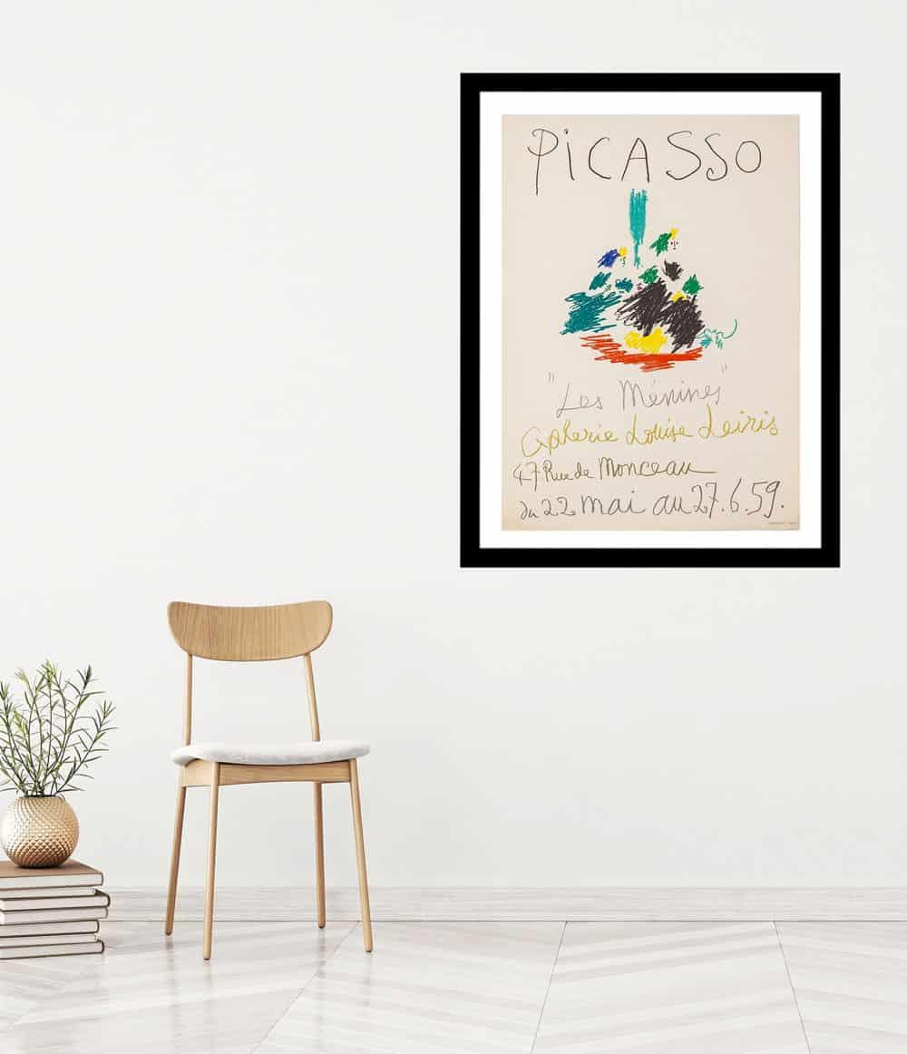 pablo picasso-mourlot-lithograph-framed