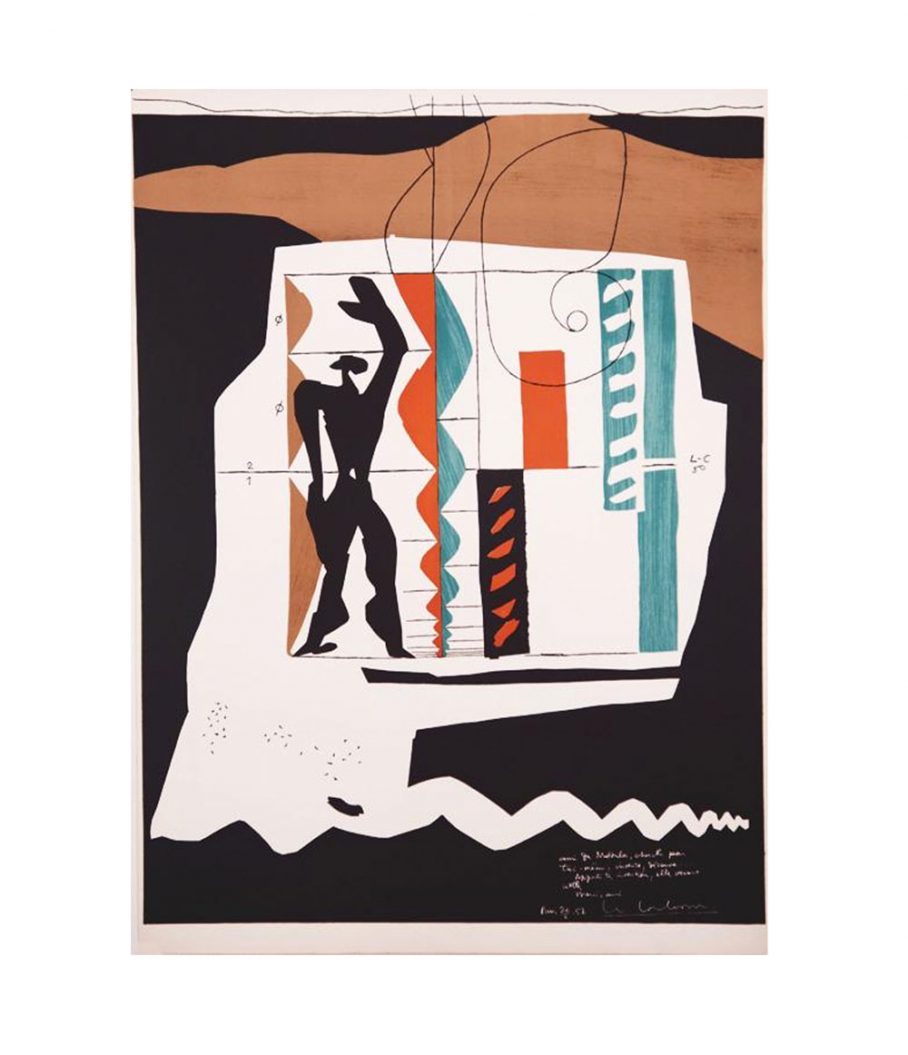 Le Corbusier Lithograph For Sale