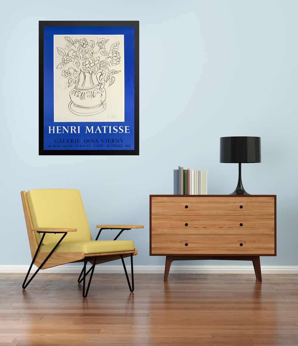 Mattise-Lithograph---Living-Room