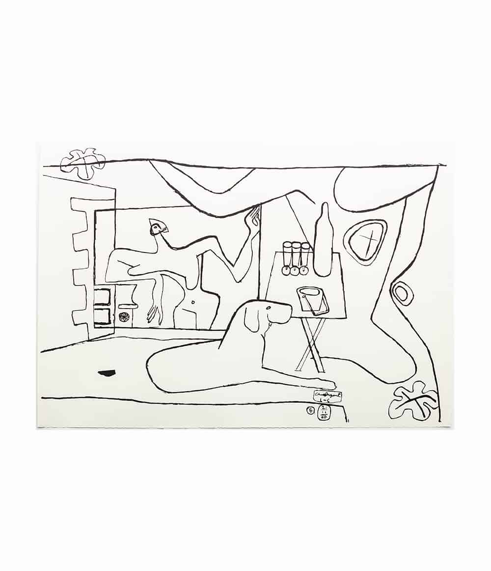 Trois Verres Black and White - Le Corbusier