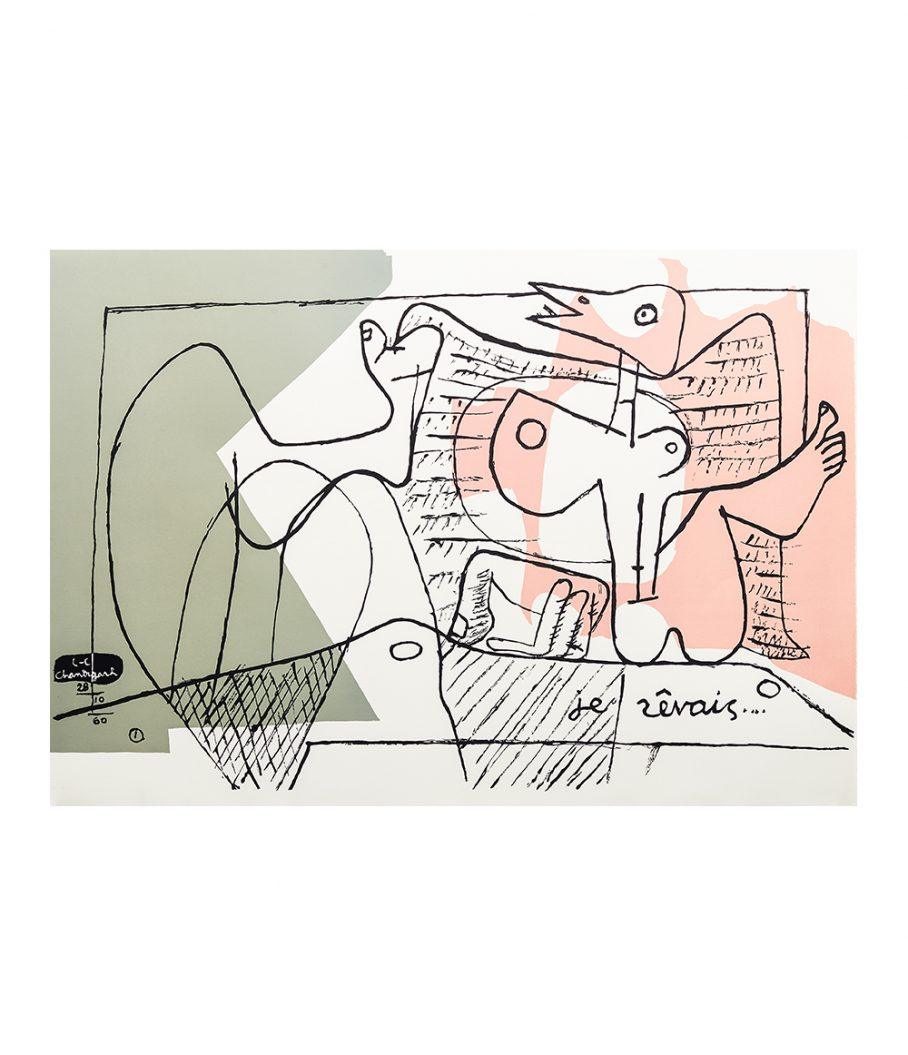 Le Corbusier Print