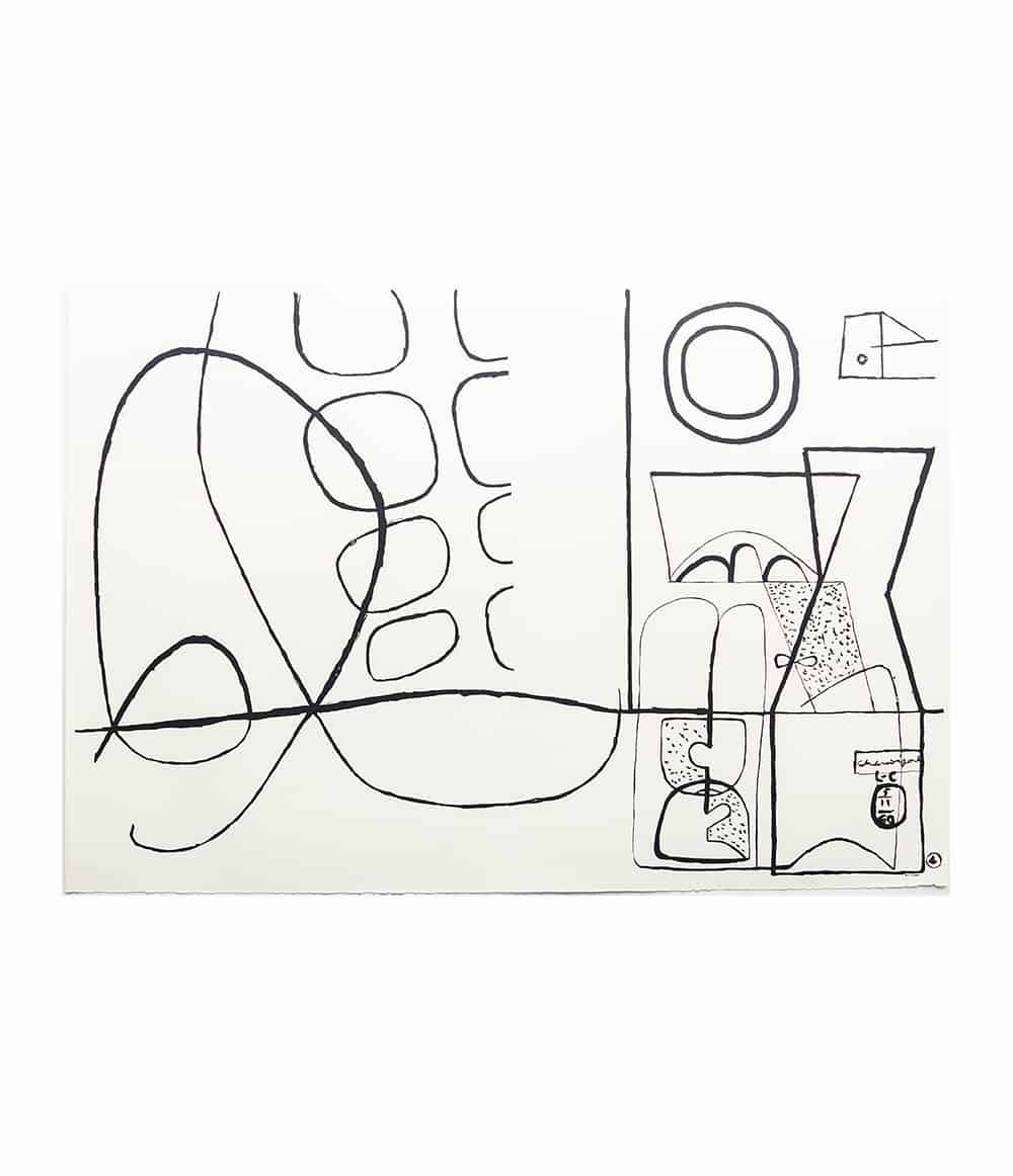 Jeux Black and White - Le Corbusier
