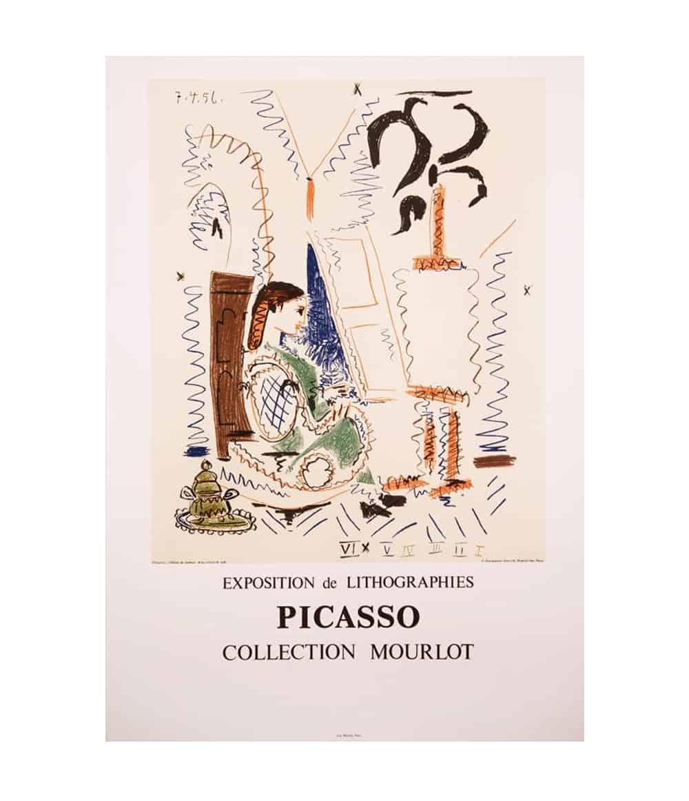 Picasso Original Print
