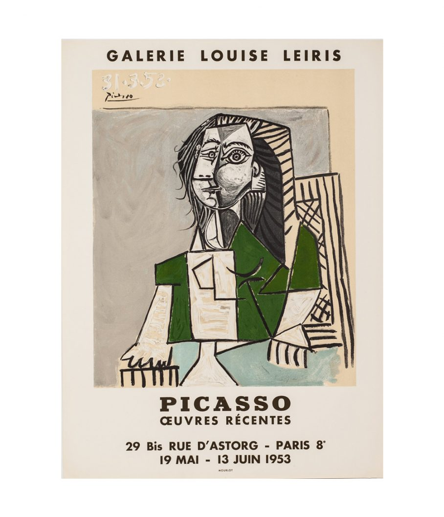 Picasso exhibition poster