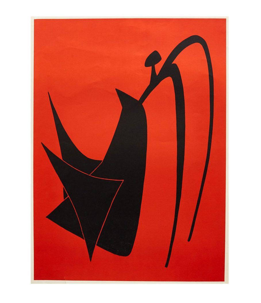 Alexander Calder Untitled Lithograph
