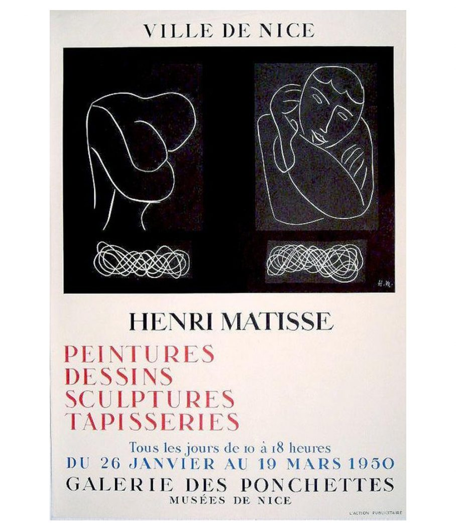 Matisse Ville De Nice Lithograph