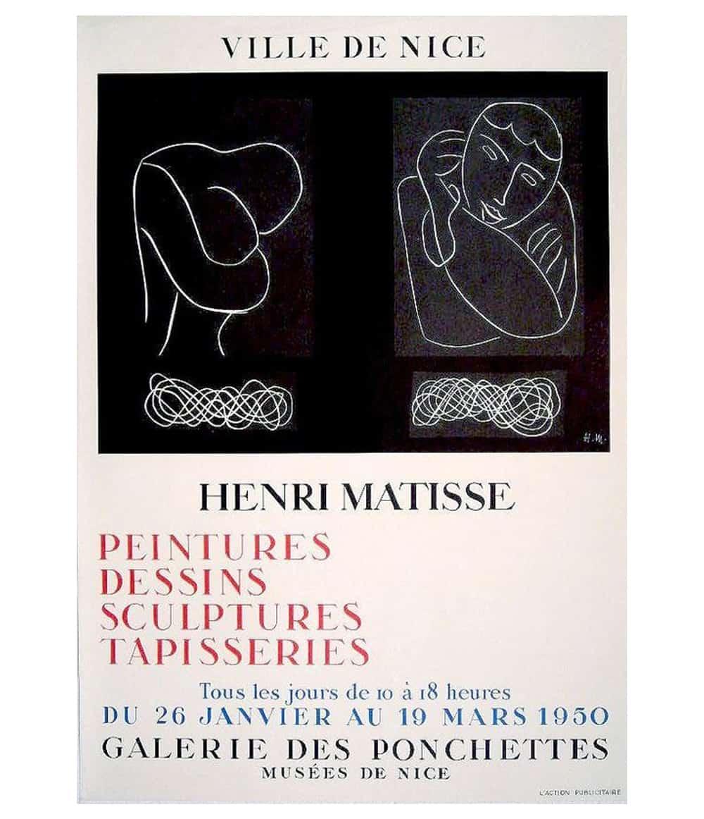 Matisse- Galerie De Ponchettes