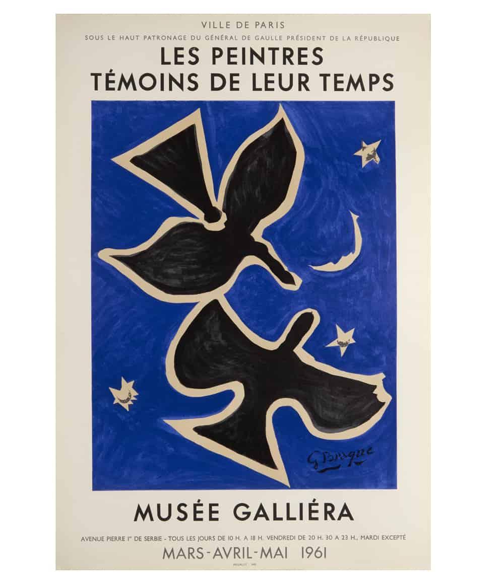 Georges Braque Mourlot Lithograph