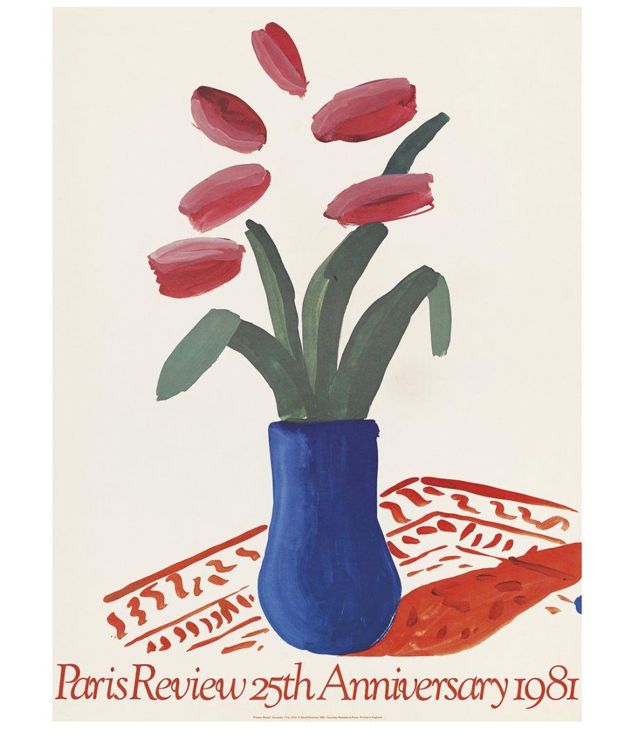 Hockney Paris Review Poster