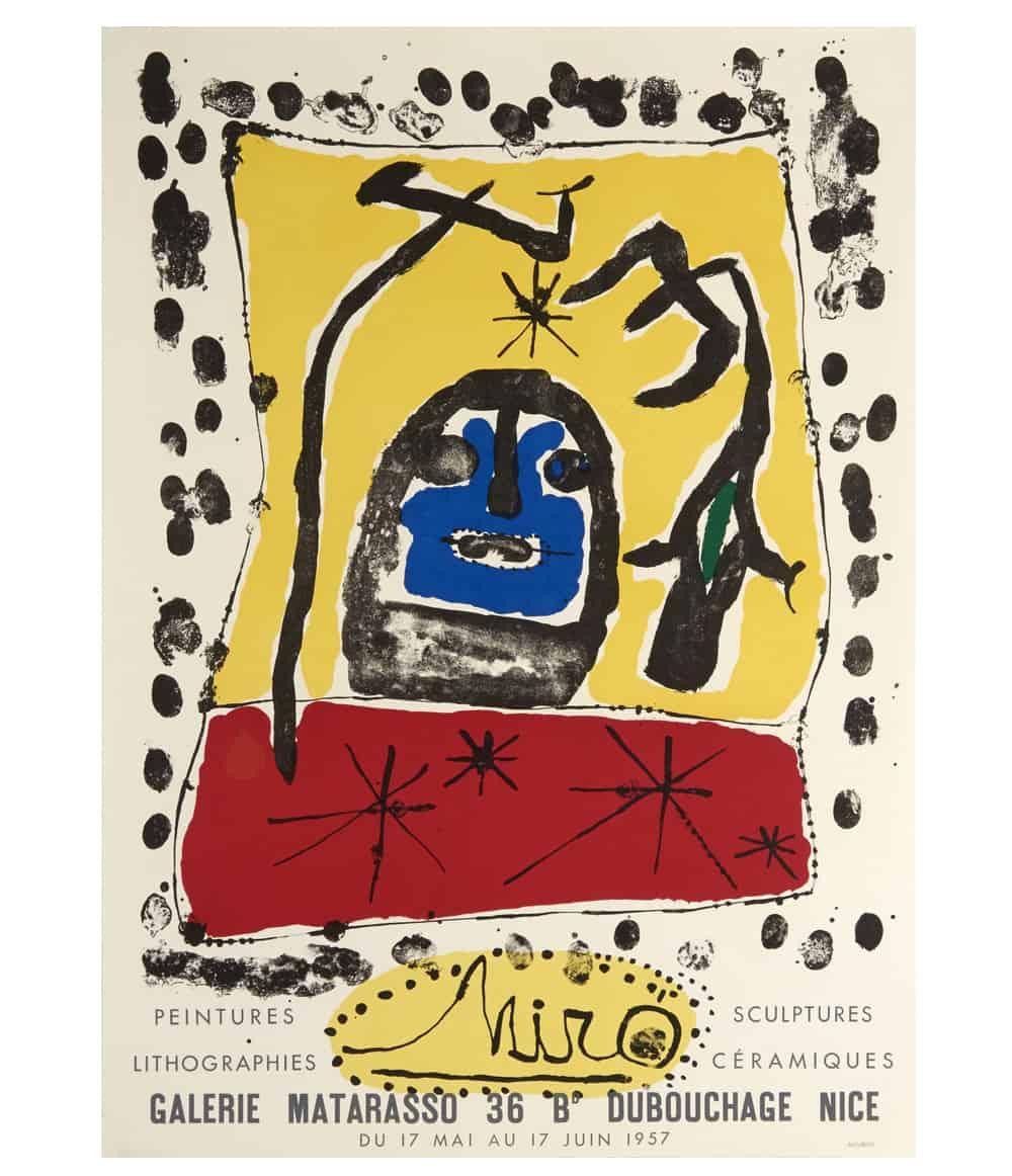 Joan Miro Matarasso Lithograph