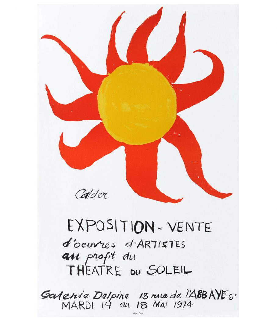 Calder Exposition Vente