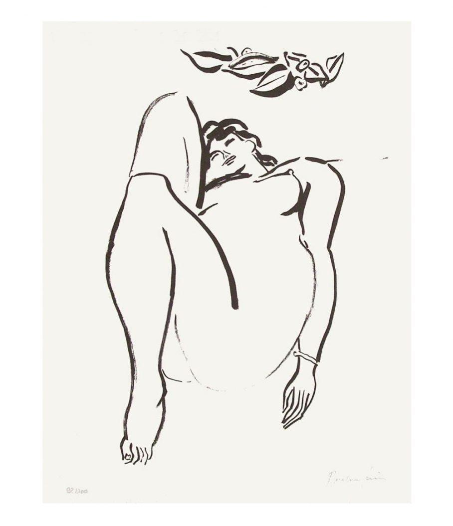 Pierre Boncompain lithograph