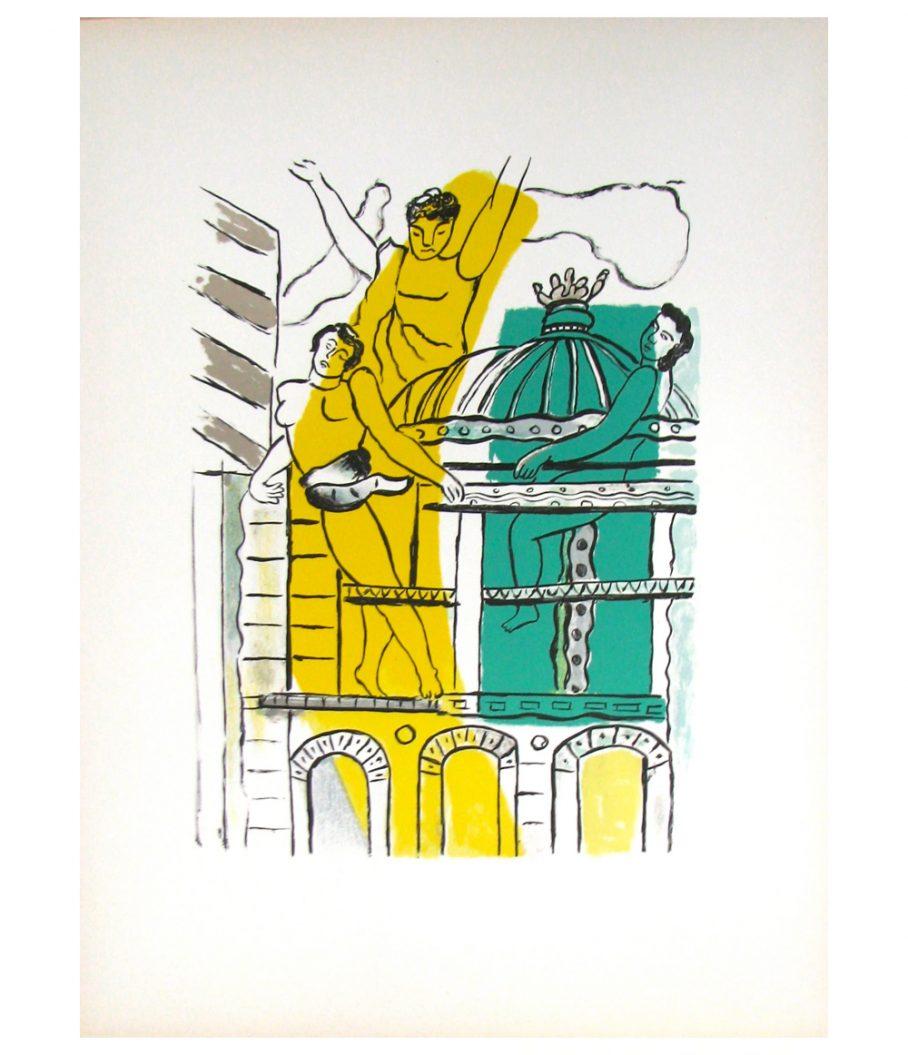 Fernand Leger L'Opera La Ville