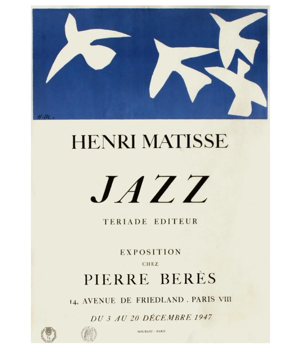 Henri Matisse Jazz Paris Lithograph