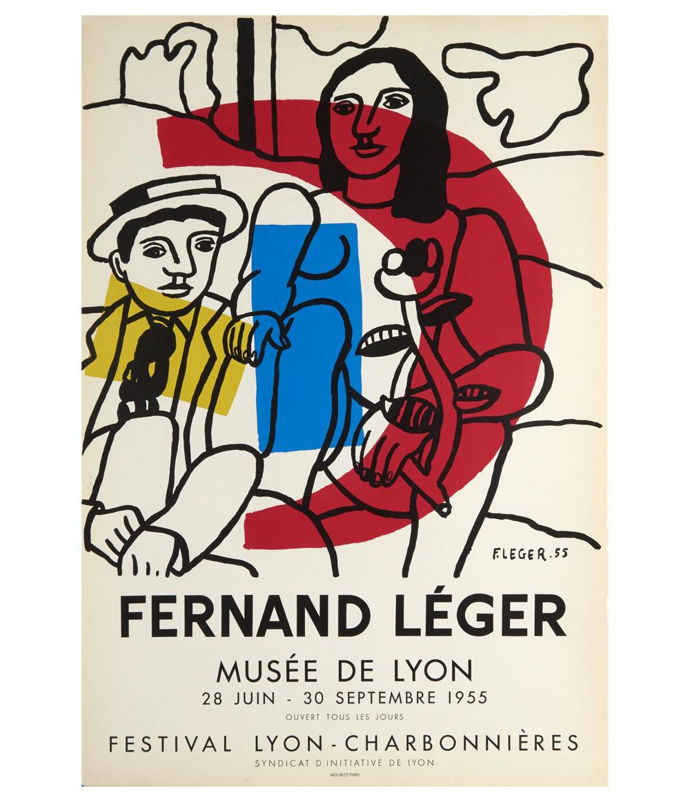 Fernand Leger Les Deux Amoureux